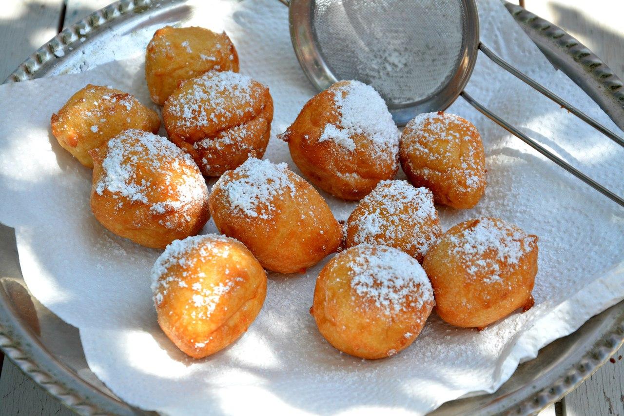 Пончики творожные классический пошаговый рецепт