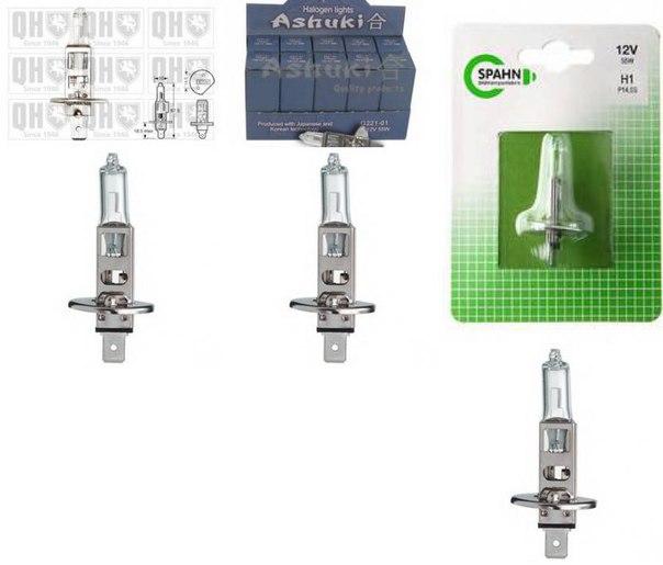Лампа накаливания, противотуманная фара; Лампа накаливания, фара с авт. системой стабилизации для BMW Z1