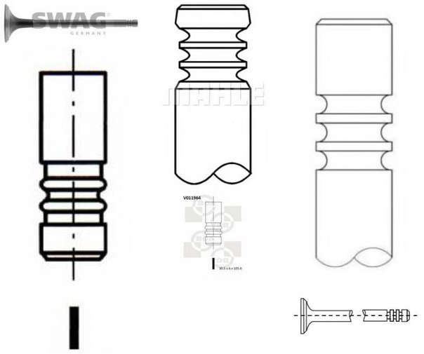 Выпускной клапан для BMW Z3 купе (E36)
