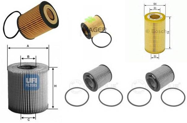 Масляный фильтр для CADILLAC BLS Wagon