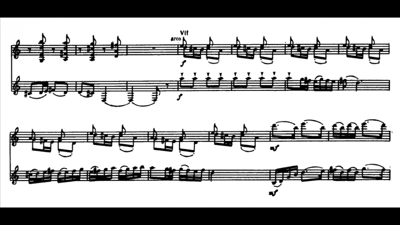 Milhaud - Suite for violin, clarinet, and piano