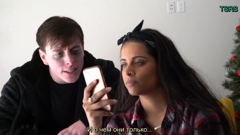 Taking on ANXIETY with Lilly Singh!! - Thomas Sanders (rus sub)