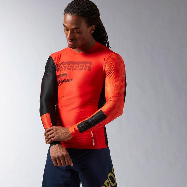 Компрессионная футболка с длинным рукавом Reebok CrossFit®