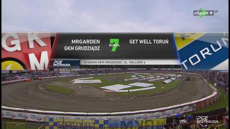 MRGARDEN GKM Grudziądz - Get Well Toruń (04.06.2017)