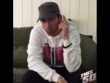 Eminem поздравляет 50 Cent с днем рождения (#NR)