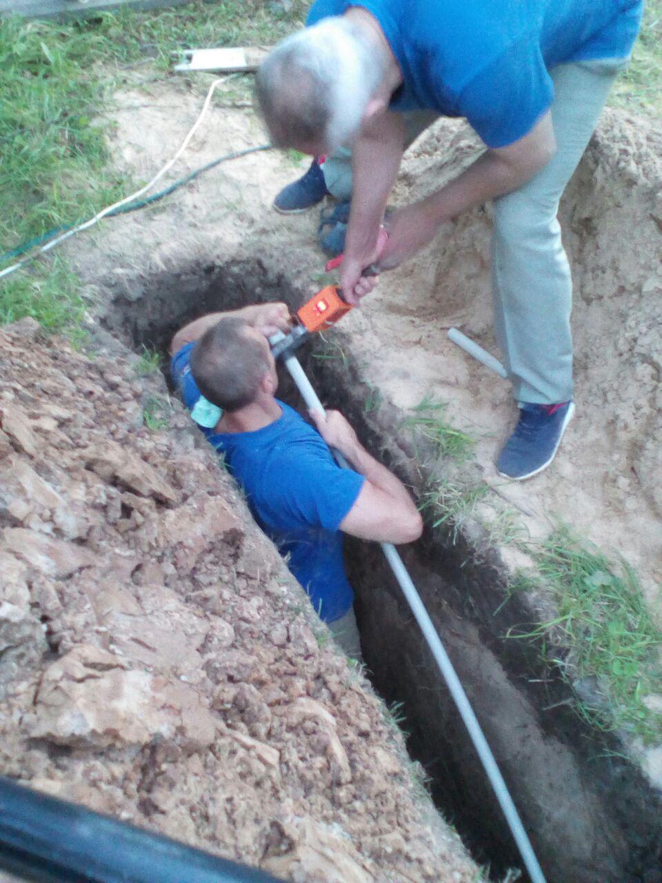 пайка труб водоснабжения