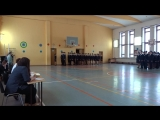 Смотр строя и песни 8А школа 78