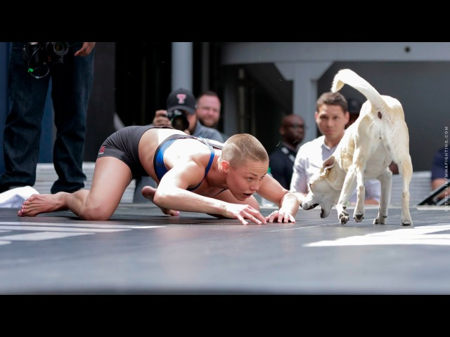 UFC on FOX 24: Rose Namajunas Open Workout (Complete) - MMA Fighting