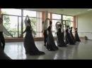 МГАХ Сарабанда XVII века муз Генделя Историко бытовой танец