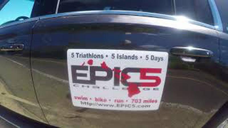 Anastas Panchenko 5 days triathlon 226 Epic5 Challenge