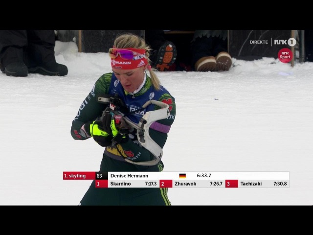 Biathlon - Women's Sprint - Sjusjøen - SESONGSTART SKISKYTING 18/11/2017