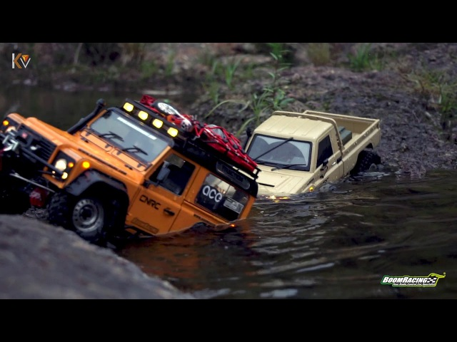 BOOMRACING 2 ROVER D90 TOYOTA LC70