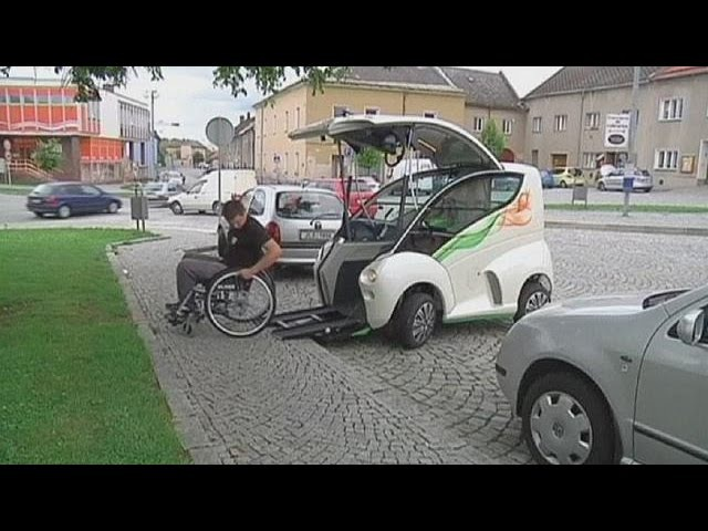 New car offers freedom for disabled drivers