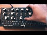 Sound DesignOn the Run Sequence on the Moog Mother 32