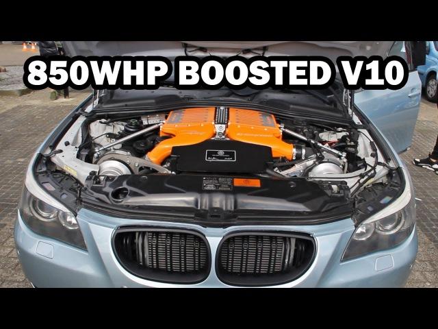 850HP BMW M5 G Power Hurricane RR Start Up Revs Accelerations