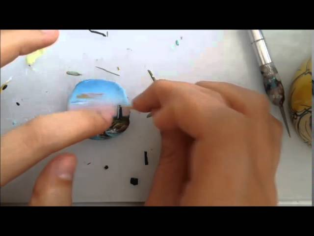 Tutorial- Dipingere con le paste polimeriche con Angenia - seconda parte