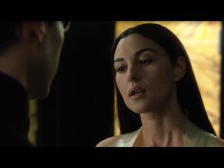 Monica Bellucci kissing scene -The Matrix Reloaded