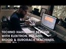 Techno session with Elektron, Roland, Moog Eurorack machines