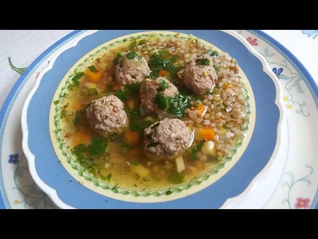 Наивкуснейший гречневый суп.Как я содержу свою кухню в чистоте.