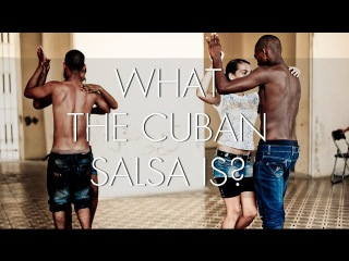 WHAT IS THE CUBAN SALSA?