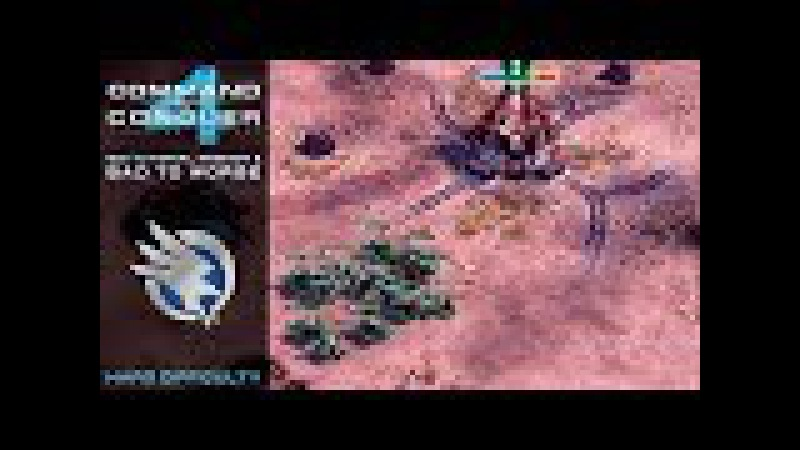 CC 4 Tiberian Twilight - GDI Tutorial Mission 2 - Bad To Worse [Hard] 1080p
