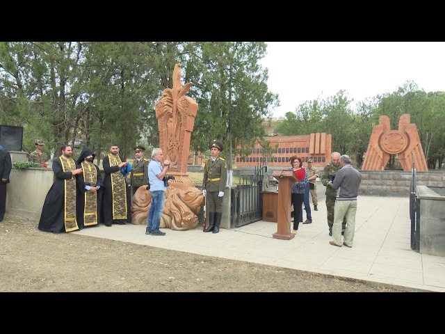 Խաչքարի բացում Թալիշում Открытие хачкара в Талише