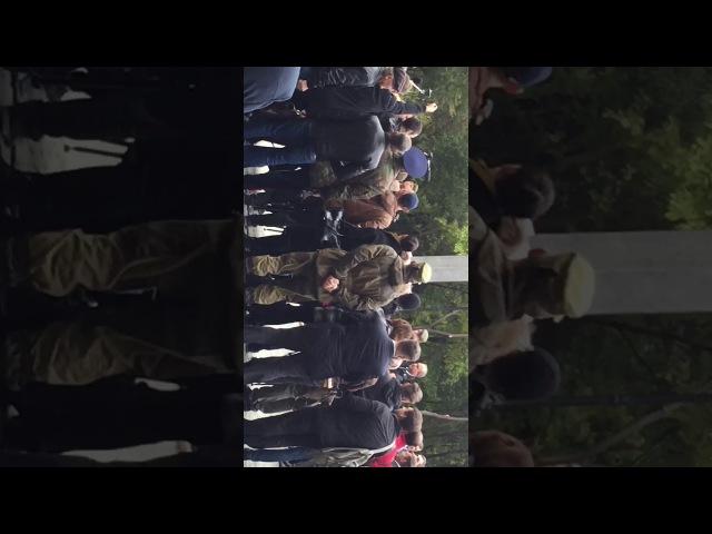 Открытие памятника добровольцам Донбасса Ростов-на-Дону