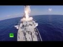 Корабли ВМФ России нанесли удар крылатыми ракетами Калибр по объектам ИГ в Си
