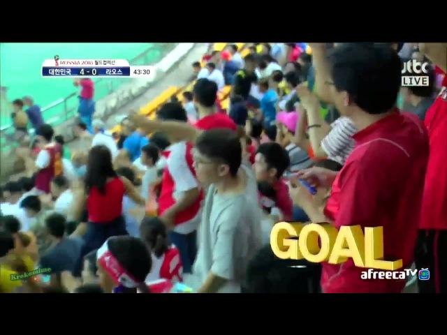 ★ LAOS 0 - 5 COREA DEL SUR ★ 라오스 0 5 대한민국 ★ RUSIA2018 FIFA ELIMINATORIAS - Clasificacion al Mundial