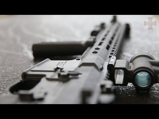 На полігоні Національної гвардії представили автоматичні карабіни M4 - WAC-47