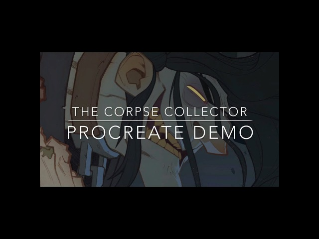 The Corpse Collector - Procreate Demo