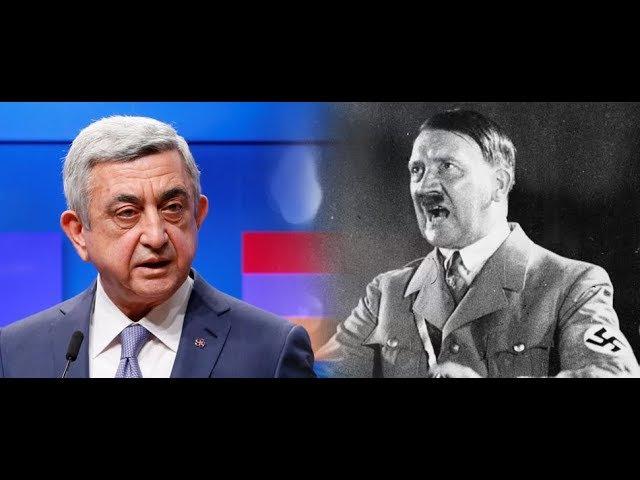 Телеканал минобороны России назвал Саргсяна фашистом