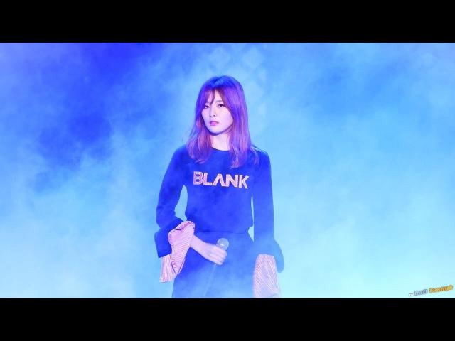 161118 블레이드 소울 월드 챔피언쉽 N-POP 쇼케이스 - 슬기 '그대는 그렇게' 직캠 by Daft