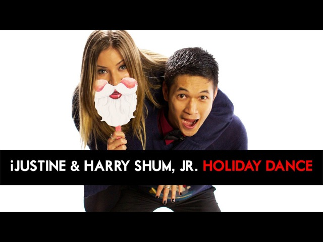 IJustine Harry Shum, Jr Give Back - HOLIDAY DANCE for Charity! [DS2DIO]