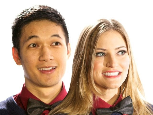 HOLIDAY DANCE PARTY iJustine Harry Shum, Jr behind the scenes dance! | iJustine