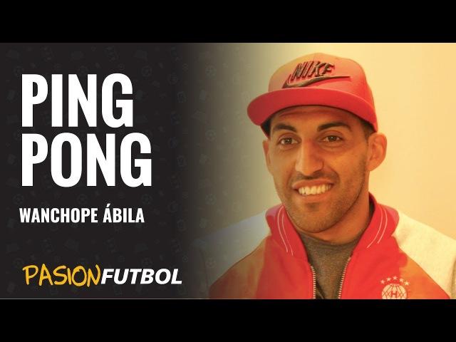 Wanchope Ábila y un ping pong desopilante mano a mano con Pasión Fútbol