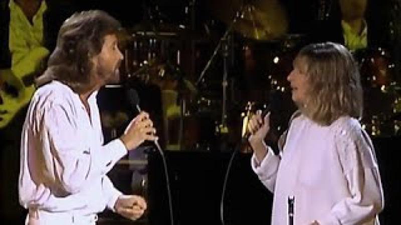 Barbra Streisand Barry Gibb - Guilty 1986 live