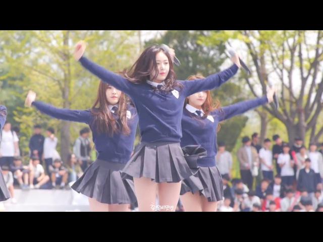 160428 경기도민체육대회 여자친구 시간을 달려서 신비 직캠