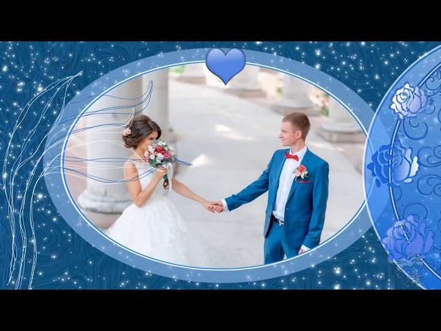 Wedding blue Proshow producer project styles Свадьба в синих тонах Прошоу продюсер