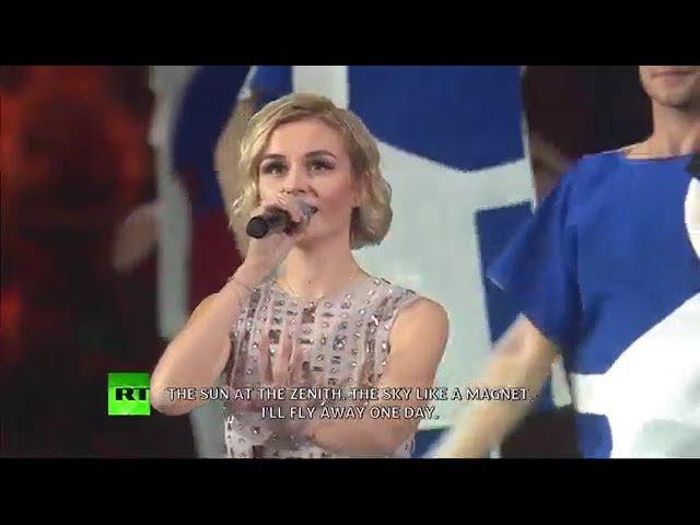 Полина Гагарина - За нашу жизнь (Всемирный фестиваль молодёжи и студентов 2017 - церемония открытия) » Freewka.com - Смотреть онлайн в хорощем качестве