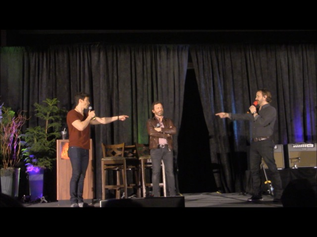 JaxCon Matt Cohen, Rob Benedict and Richard Speight Jr. Panel 2017 Supernatual