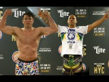 Bellator 180 NYC Official Weigh Ins - Chael Sonnen vs Wanderlei Silva