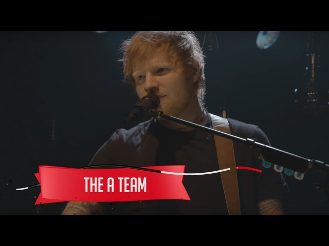 Ed Sheeran The A Team Live on the Honda Stage at the iHeartRadio Theater NY