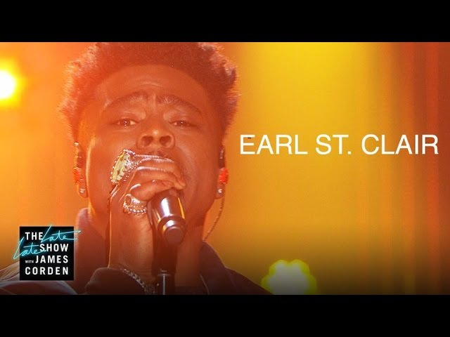 Earl St. Clair - Ain't Got It Like That (The Late Late Show with James Corden)