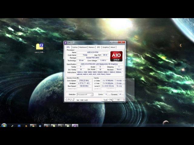 Как узнать характеристики своего ПК? CPU-Z Детальная информация о процессоре