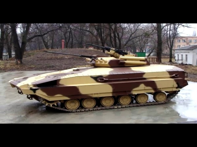 Тяжелая украинская БМПТ 64 (ВСУ, АТО, Нацгвардия, СБУ, ГУР, Спецназ)
