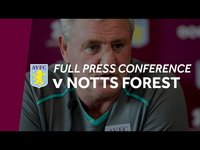 Press conference: Nottingham Forest home
