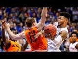 No. 2 Kansas defeats Oklahoma State  Kansas Basketball  1.14.17
