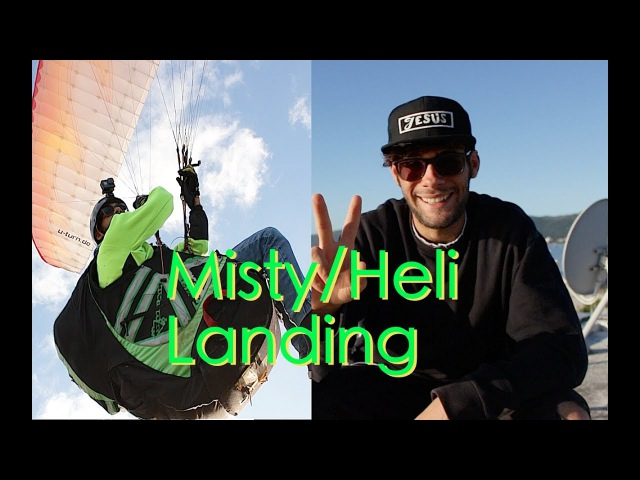 Misty Landing/ Ground Helico (Paragliding Tutorial) | Max Martini