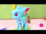 Пластилин Плей-до Май Литл Пони - фигурка Рэйнбоу Дэш (play-doh My little pony Rainbow dash)